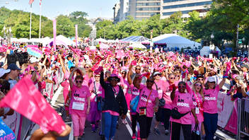 Formerly known as the Susan G. Komen Washington, D.C., Race for the Cure, the annual breast cancer event transitioned from a race to a walk in 2019 in an attempt to encourage communication among participants and create a stronger sense of community. About 5,000 participants walked together in a sea of pink to raise $875,000 at this year's event. Next: Fall 2020