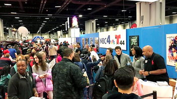 D.C. Mayor Muriel Bowser was among the 70,000 attendees at this year's 27th annual expo. The event, held at the Walter E. Washington Convention Center, offered two days' worth of health-related programming, such as health screenings, fitness classes, cooking demos, and more. Telemundo 44 returned as co-host for the second year in a row. Next: January 18-19, 2020