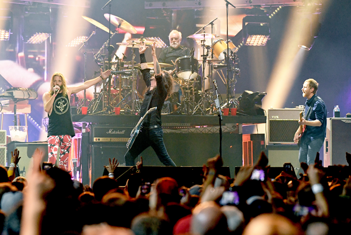 Last year Foo Fighters headlined AT&T TV's Super Saturday Night. This year, some 8,500 guests will see Lady Gaga.