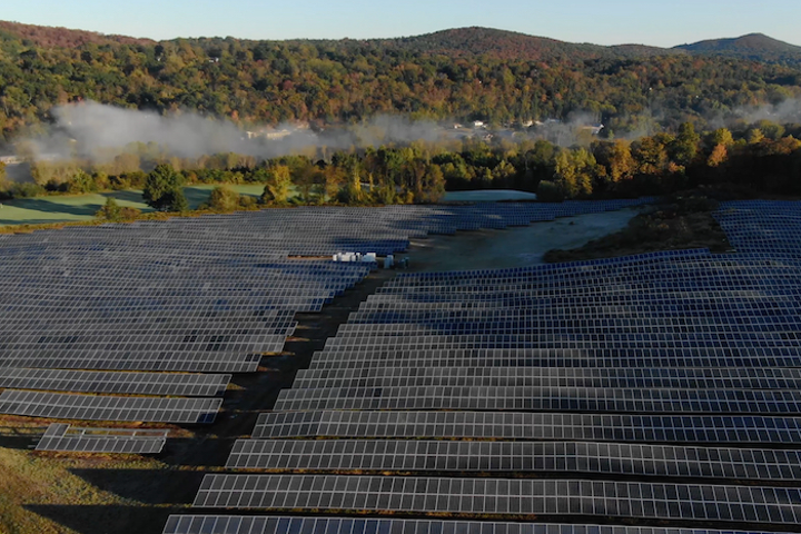 Crystal Springs Resort 25 Acre Solar Farm