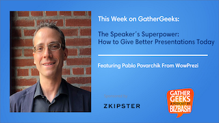 Podcast: The Speaker's Superpower: How to Give Better Presentations Today (Episode 179)