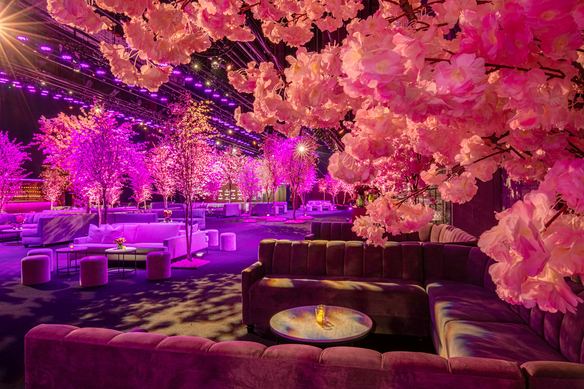 See the SAG Awards' Cherry Blossom-Filled After-Party