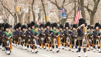 The St. Patrick's Day Parade in New York City dates to 1762, making it the world's oldest and largest event of its kind. Two-and-a-half million people line the parade route as bands, civic groups, and other revelers march down Fifth Avenue in a festive display of Irish faith, heritage, and culture. The 2020 parade will celebrate labor unions and commemorate the 100th anniversary of women's suffrage. Next: March 17, 2020