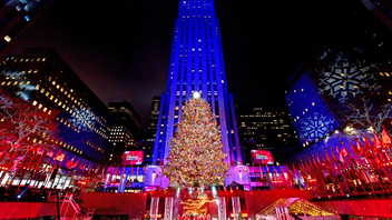 Jon Bon Jovi, John Legend, Idina Menzel, and Gwen Stefani were just some of the A-List entertainers who performed at last year's Rockefeller Center Christmas Tree Lighting. Wrapped in five miles of multicolored lights and topped with a 900-pound Swarovski crystal star, the 77-foot-tall Norway spruce dazzled thousands of in-person spectators and upwards of five million more who watched the two-hour event on NBC. This year marks the 88th iteration of the beloved holiday tradition. Next: December 2020