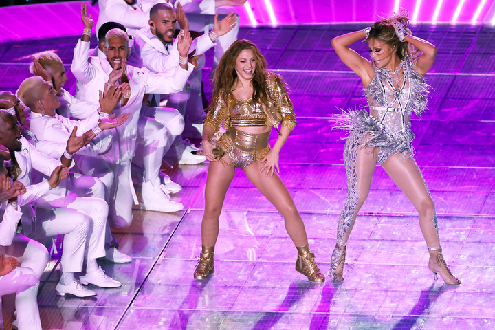 Jennifer Lopez and Shakira are the first Latinas to ever headline a Super Bowl halftime show.