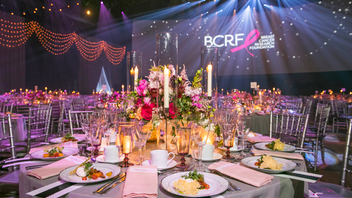 In 2019, more than 1,000 guests attended the Breast Cancer Research Foundation's Hot Pink Party, the organization's signature fund-raising gala since 1994. Held at the Park Avenue Armory, the party where guests wear pink raised more than $6 million to fund breast cancer research. Elizabeth Hurley returned as the evening's emcee, and David Foster, Maxwell, and Katharine McPhee were among the performers who entertained the crowd. Next: May 20, 2020 See more: 24 Bright Ideas From Spring Benefits