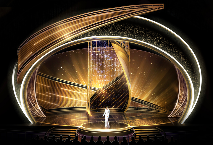 The stage design for Sunday's Academy Awards will feature 40,000 Swarovski crystals. Swarovski worked with Emmy-winning creative director Jason Sherwood on the design, which includes a 1,100-pound swirl made of crystals, plus a 600-pound crystal curtain and a 1,325-pound crystal tower. 'My production design is a sculptural cyclone where Hollywood glamour and film-making artistry can combine visually to celebrate the impact of storytelling, and our partnership with Swarovski has allowed that vision to shine at every turn,' said Sherwood in a press release. 'Crystals imbue the design with the floating, magical sense of possibility, and bring an almost kaleidoscope wonder to a stage and a year of movies that celebrate the human experience.""