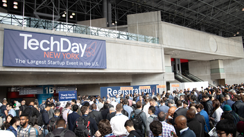 Up from #3 More than 300 startups, tech companies, and industry innovators showcase their products during TechDay New York, which returns for its ninth year in 2020. Since it began in 2012, the event has continued to grow, moving from Pier 94 to the Jacob K. Javits Center in 2019. Last year's expo drew 15,000 attendees, who experienced features like the Startup Stage sponsored by Amazon Web Services, a kickoff party hosted by Google, Shark Tank's East Coast casting call, and a new networking and matchmaking app. The 2020 event will feature a new Founders Summit, a program for the founders of the exhibiting startups held the day after TechDay. Next: April 23, 2020