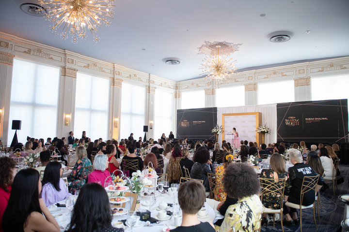 L'Oreal Canada's fourth annual Women of Worth gala was hosted by actresses Aja Naomi King (How to Get Away with Murder). Honoring 10 women for their community work, the event was also attended by Shohreh Aghdashloo (The Expanse), Amanda Brugel (The Handmaid's Tale), and Canadian Olympian hurdler Sage Watson.