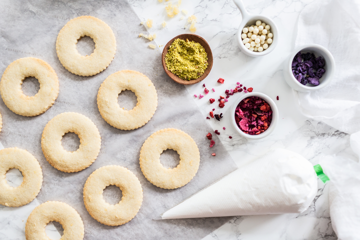 Washington, D.C.-based Occasions Caterers includes cookie decorating kits as part of its Mother's Day offerings.