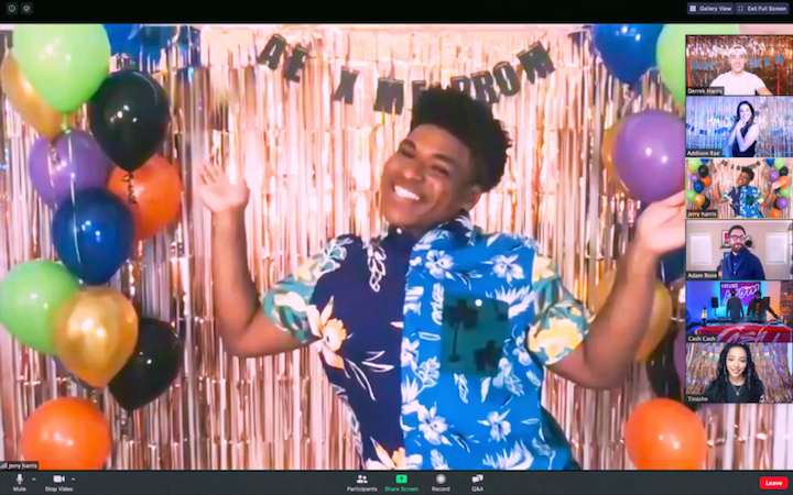 Jerry Harris, the breakout star from Netflix docuseries Cheer, hosted clothing brand American Eagle's virtual prom on May 14.