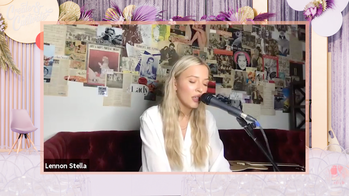During Create & Cultivate's recent virtual Money Moves Summit, the team had a 10-minute music session with rising indie-pop artist Lennon Stella, who performed three songs then held a Q&A with attendees.