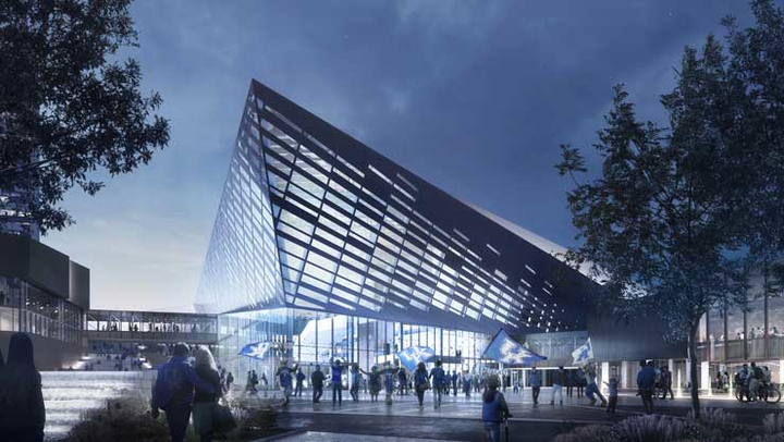 Kentucky's $278 million Central Bank Center, which includes the Rupp Arena, is expected to be completed by late 2020.