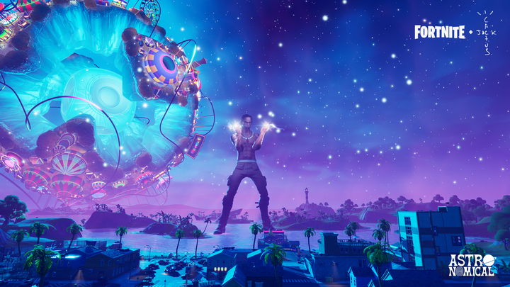 In April, Travis Scott performed inside Epic Games' Fortnite, creating a kind of trippy, interactive music video.