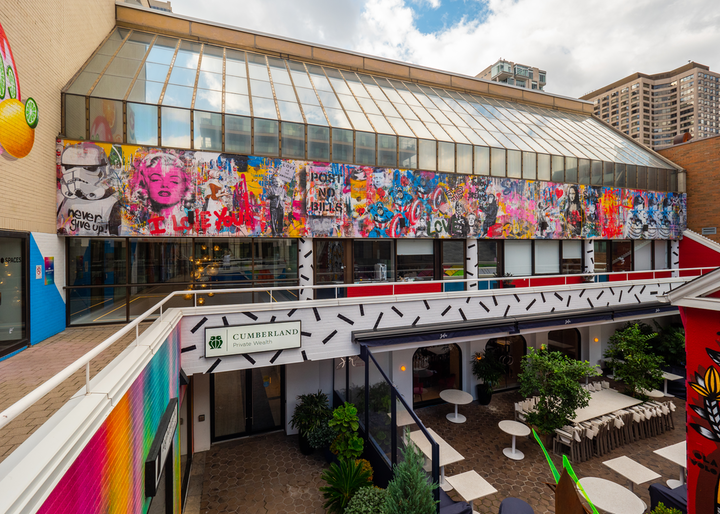 """Taglialatella Galleries and Mr. Brainwash have launched a new print by the artist, following last summer's launch of the """"Toronto is Beautiful"""" mural (pictured)."""