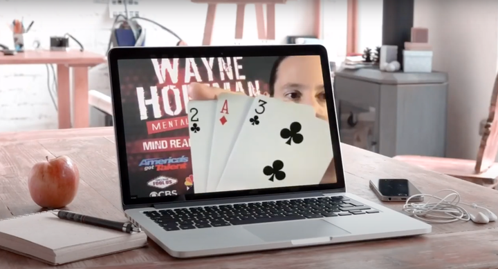 Nationally recognized mentalist and illusionist Wayne Hoffman can be booked for virtual events, offering sessions ranging from five minutes to a full hour.
