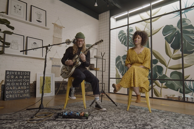 During Small Business Live, Allen Stone performed at Terrain in Spokane, Wash.