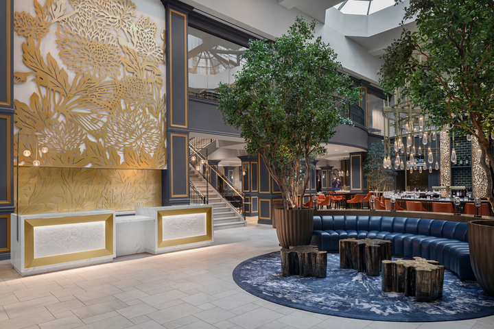 In Ohio, The Lytle Park Hotel debuted in downtown Cincinnati earlier this month; the new Autograph Collection property, which delayed its opening by two months to accommodate new health and safety protocols, has 106 guest rooms. There's also 11,000 square feet of event space, including eight flexible meeting rooms and the city's only four-season rooftop space, which offers views of Lytle Park, downtown Cincinnati, and the Ohio River.