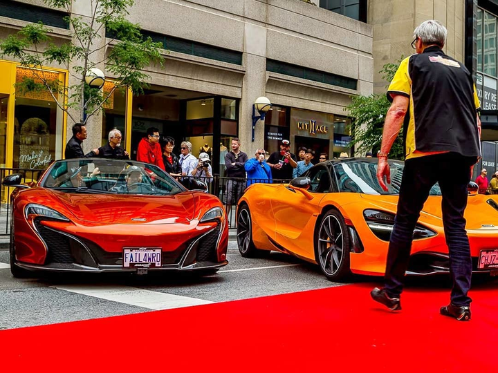 On Father's Day, the annual Yorkville Exotic Car Show will broadcast a virtual show, with proceeds supporting the Canadian Cancer Society.