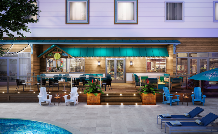 The 123-room Compass Hotel Anna Maria Sound opened in Florida on July 15.
