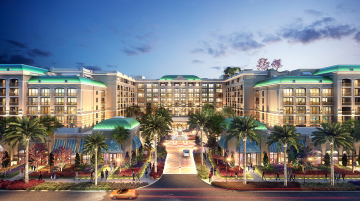 The 618-room Westin Anaheim is slated to open in October with 47,000 square feet of event space.