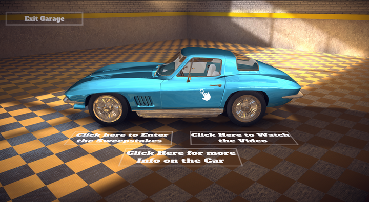 "The 3D virtual auto show showcases ""The Lost Corvettes""—a collection of 36 Corvettes from 1953 to 1989 that are often referred to as the Peter Max Collection."