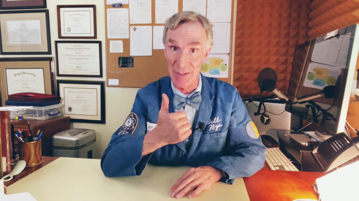 Science educator Bill Nye is part of Hollister's back-to-school campaign on TikTok.