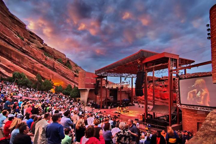 The historic Red Rocks Amiptheatre will host a digital music festival Sept. 1-3.