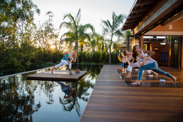Hotels are getting creative with outdoor space during the pandemic. San Diego's Rancho Valencia Resort & Spa, for example, is hosting outdoor yoga and other fitness classes, plus open-air massages and reimagined al fresco dining.