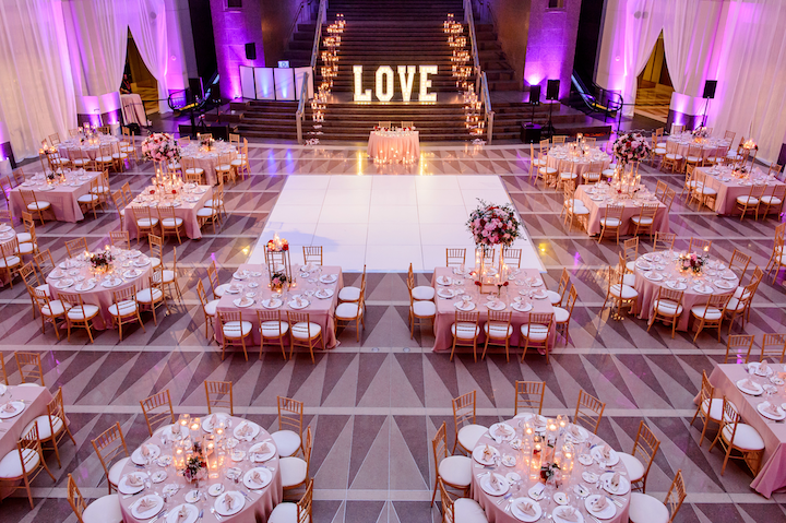 A peek at a D.C-based wedding planned by NSBWEP president and founder Tara Melvin