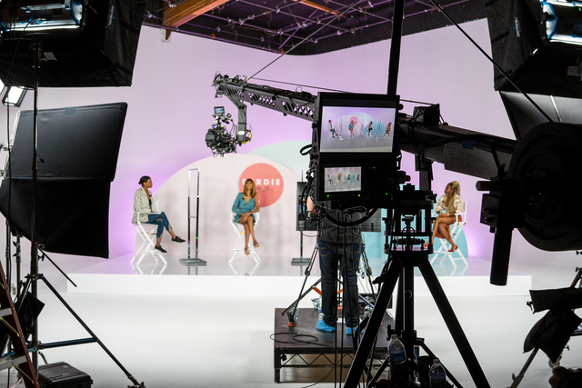 The Byrdie Beauty Lab was produced by Stoelt Productions at Goya Studios in Los Angeles.