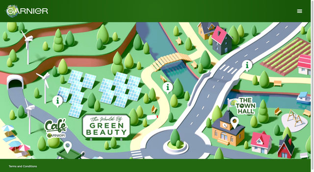 "The World of Garnier Green Beauty serves as a ""virtual press trip"" where about 1,000 editors from around the world are able to join presentations, access assets for 2021 launches, and learn about the brand's renewed sustainability commitments."