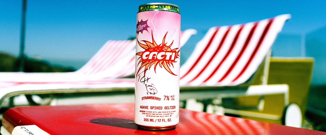 Via a nationwide hunt, Travis Scott and his Cacti spiked seltzer brand invited fans to track down 100 signed cans that unlocked two tickets to the rapper's sold-out Astroworld Festival.