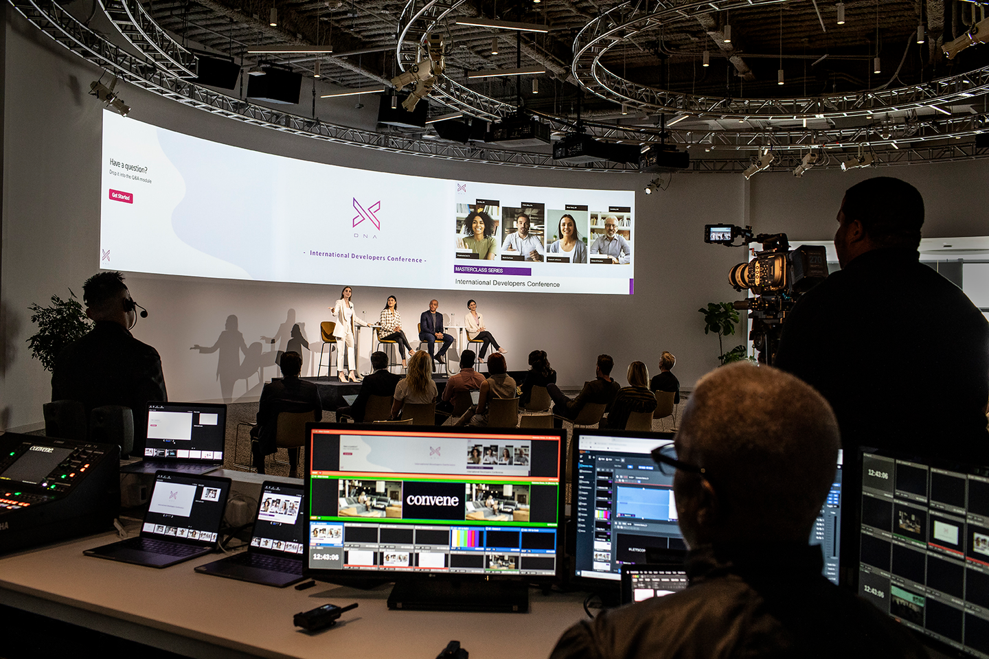 Convene Studio for Hybrid and Virtual Events