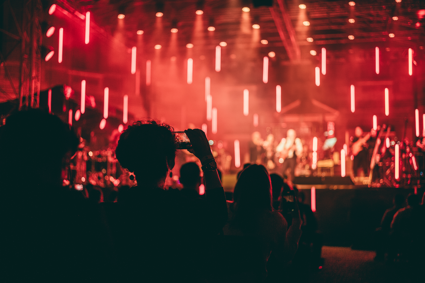 Scenography at BMW's 'Re: Imagine Music' concert with Hans Zimmer